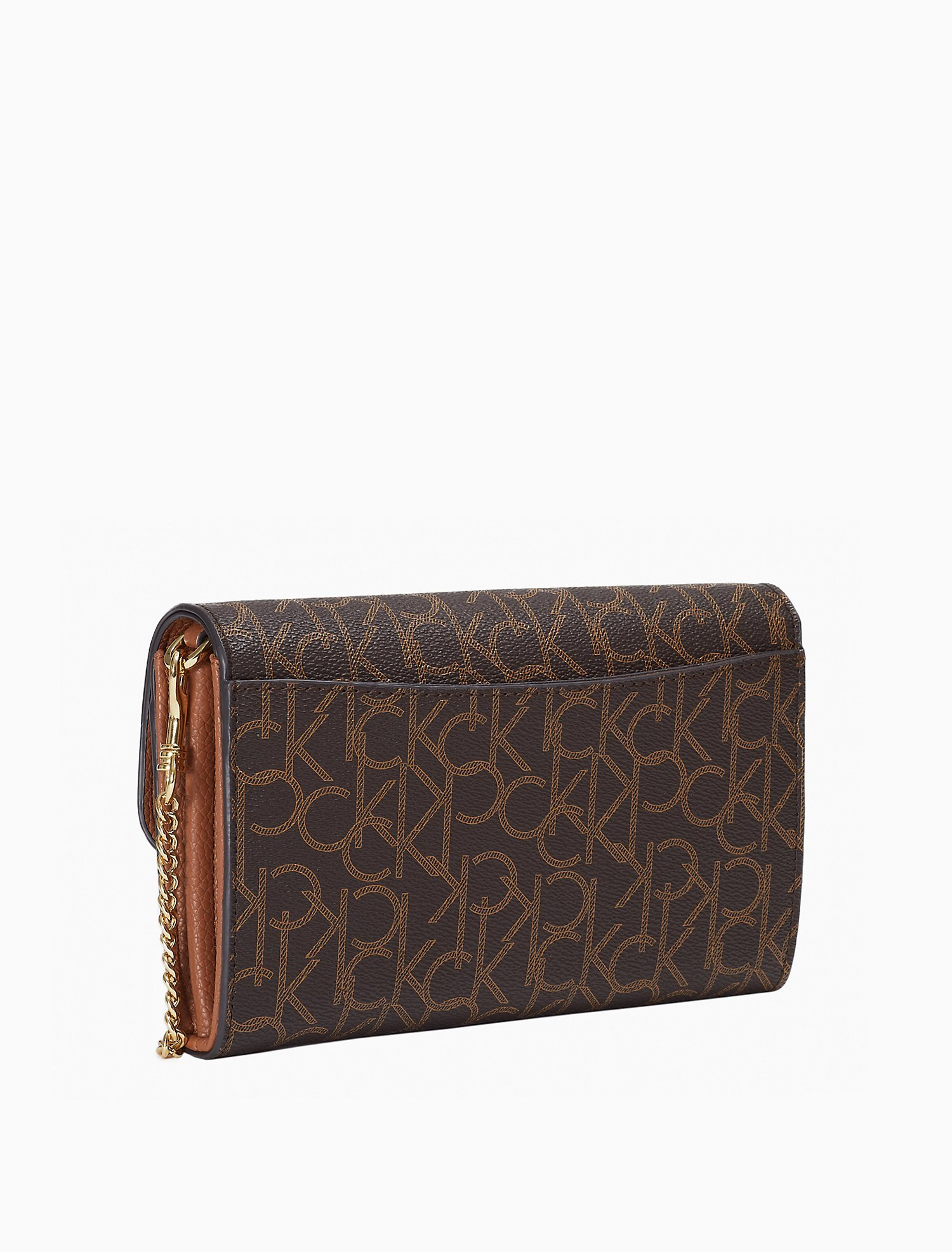 Eliana Monogram Logo Mini Crossbody Bag