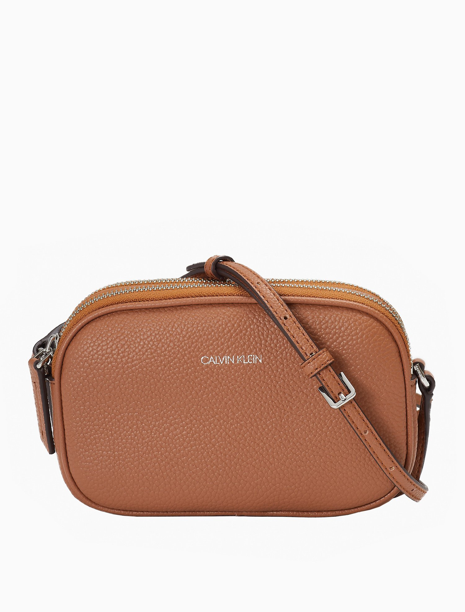 Pebble Dual Compartment Crossbody Bag