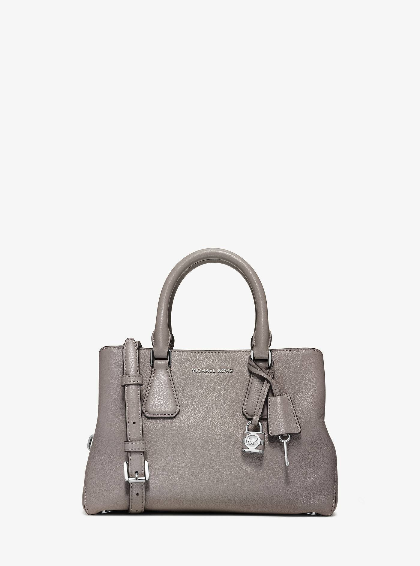 Camille Small Leather Satchel