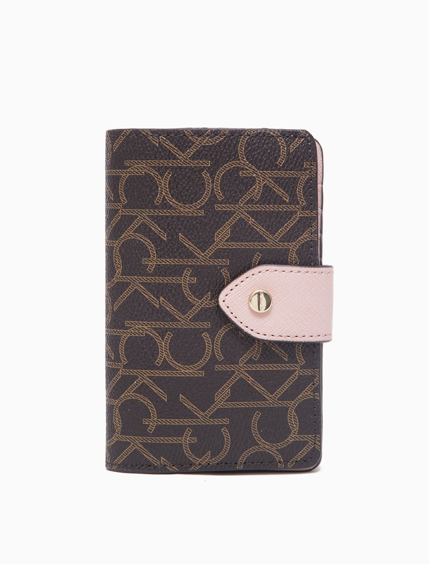 Monogram Logo French Clutch Wallet